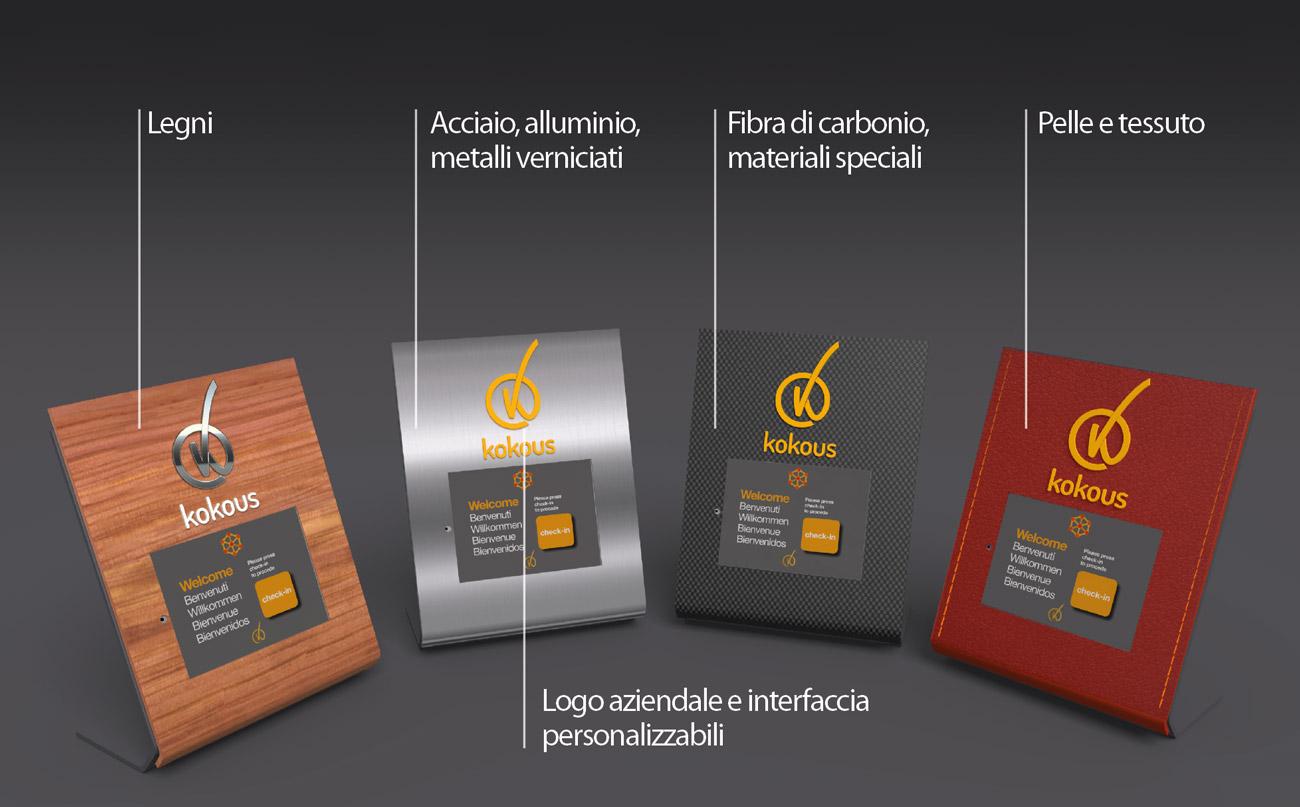 Kokous Terminale Custom Personalizzabile